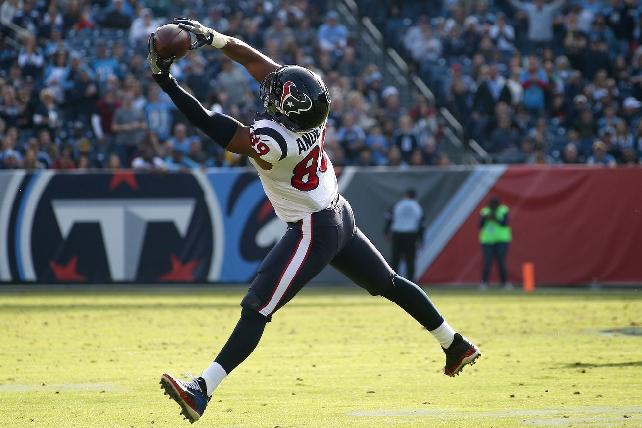 Fantasy football waiver wire advice Tight end rankings