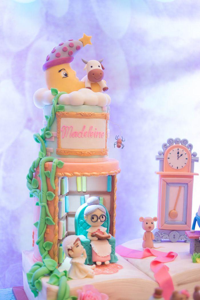 Nursery Rhyme Cake From A Clic Birthday Party On Kara S Ideas Karaspartyideas