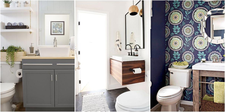 50 baños pequeños, ¡geniales! IDEAS CREATIVAS Pinterest Baño - decoracion baos pequeos