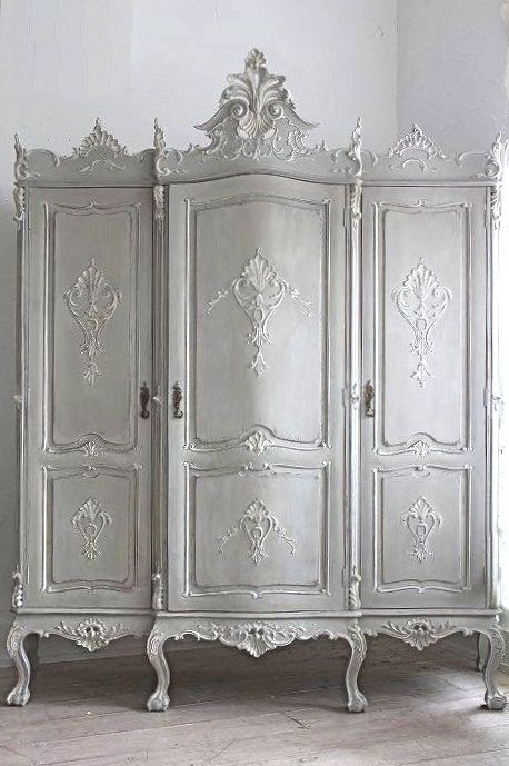 White Armoire Painted Armoire Antique Paint French Antiques