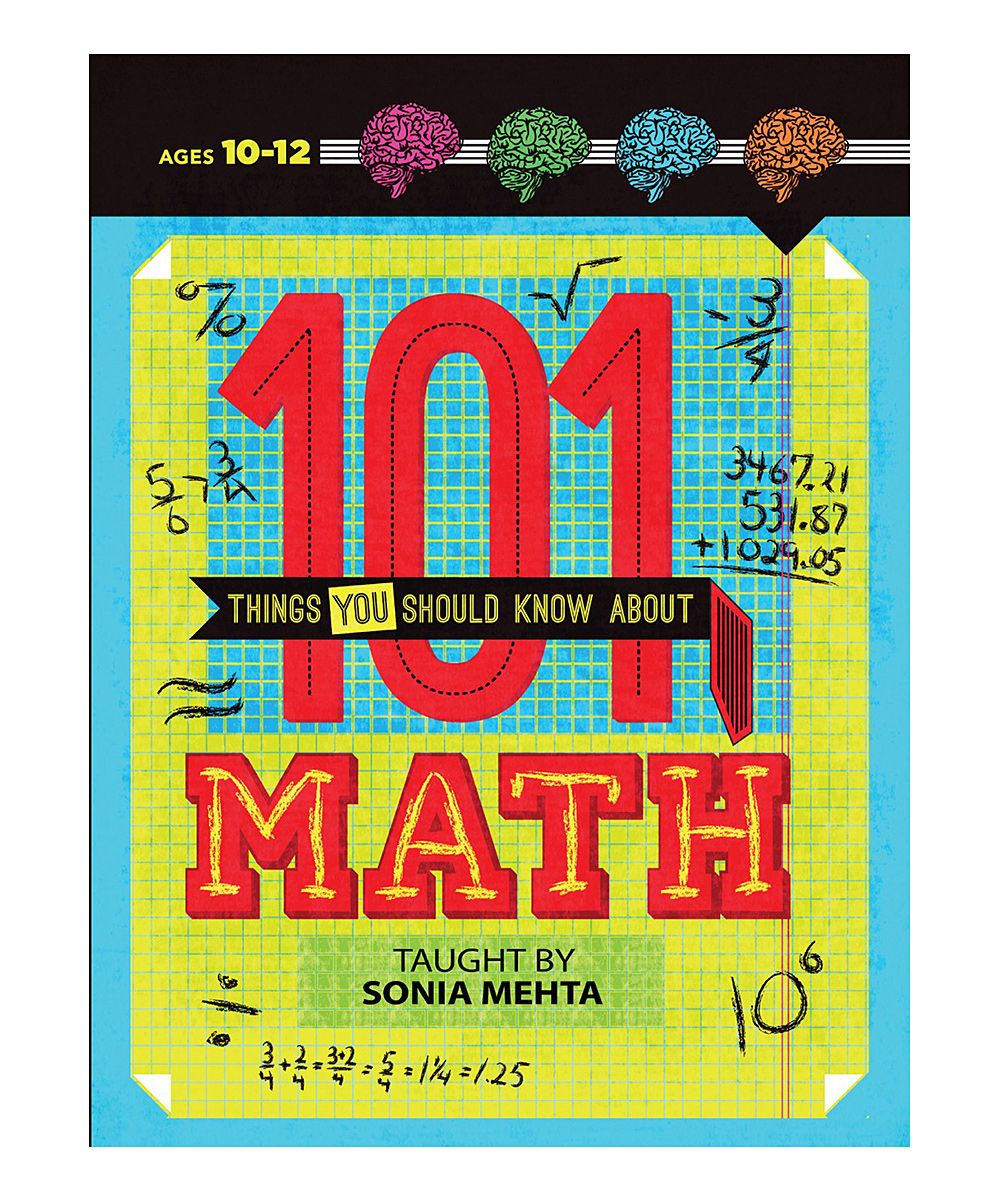 101 Things You Should Know About Math Paperback