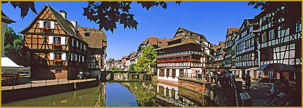 Strasbourg petite france dans le quartier des tanneurs for Maisons du monde strasbourg
