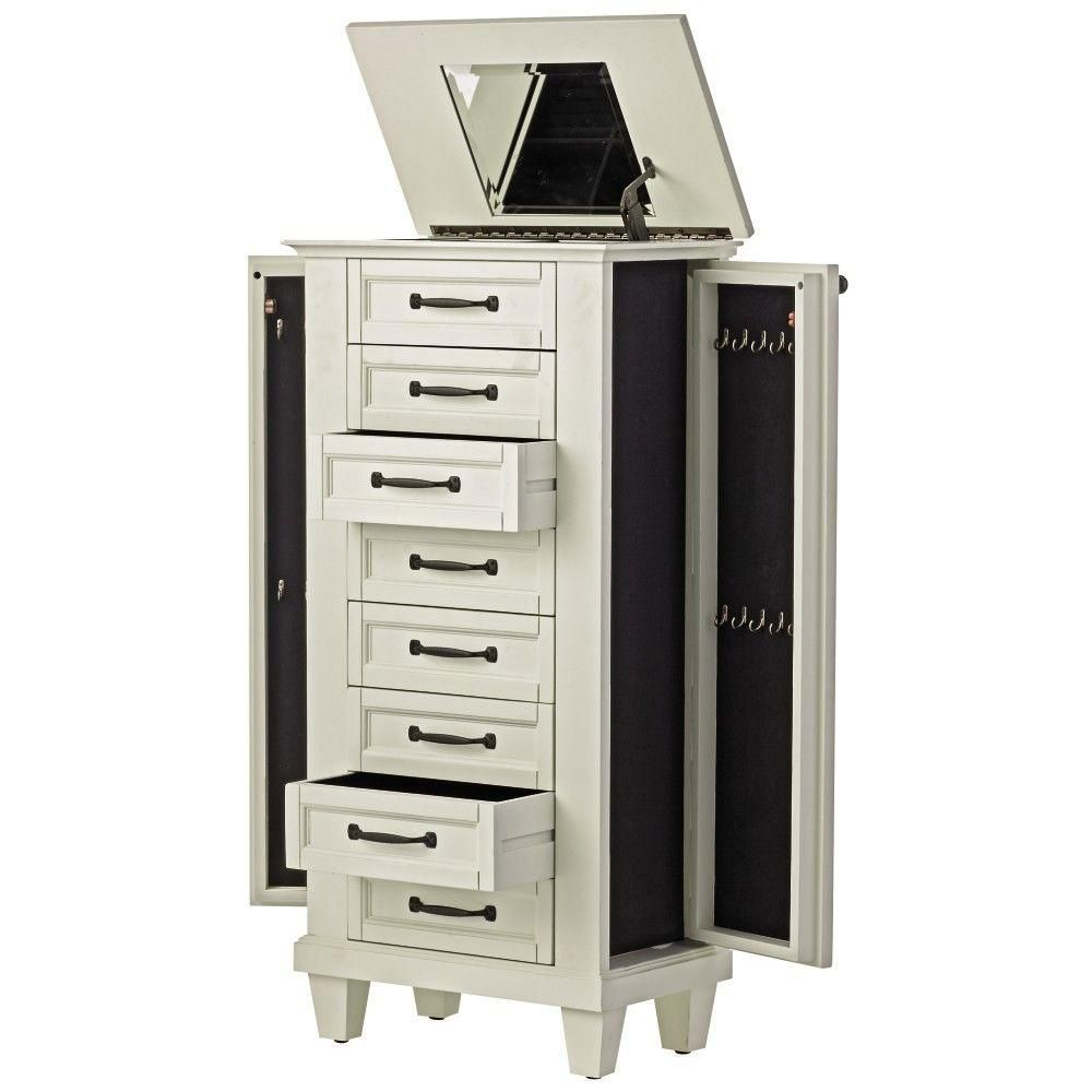 Martin 7Drawer Jewelry Armoire in Jewelry Armoires Pinterest
