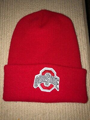 Details about Vtg Ohio State Buckeyes Knit Hat Cap OSFA OSU Bucks USA Made Twinsburg Red #ohiostatebuckeyes