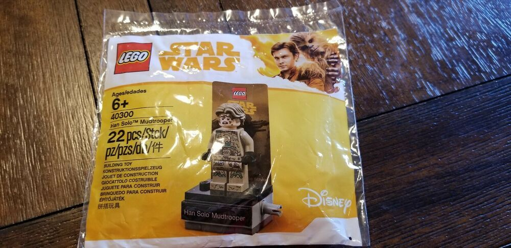 Lego Star Wars 40300 Han Solo Mudtrooper Polybag New//Sealed