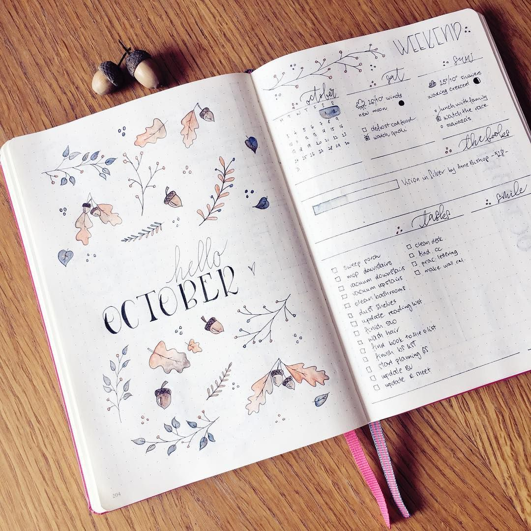weekly spread planners bullet journals pinterest joiespooks planners bullet journals. Black Bedroom Furniture Sets. Home Design Ideas