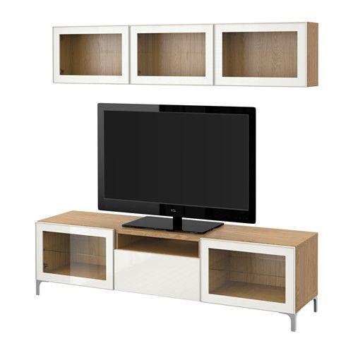Ikea Best Tv Storage Combinationglass Doors Tv Stands Ikea Tv