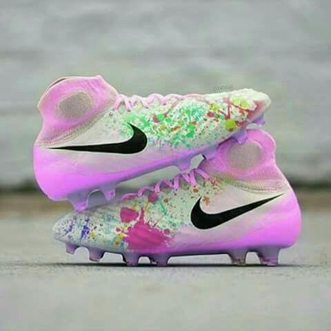Lindas #futbolfemenino   Zapatos de fútbol para mujer ...