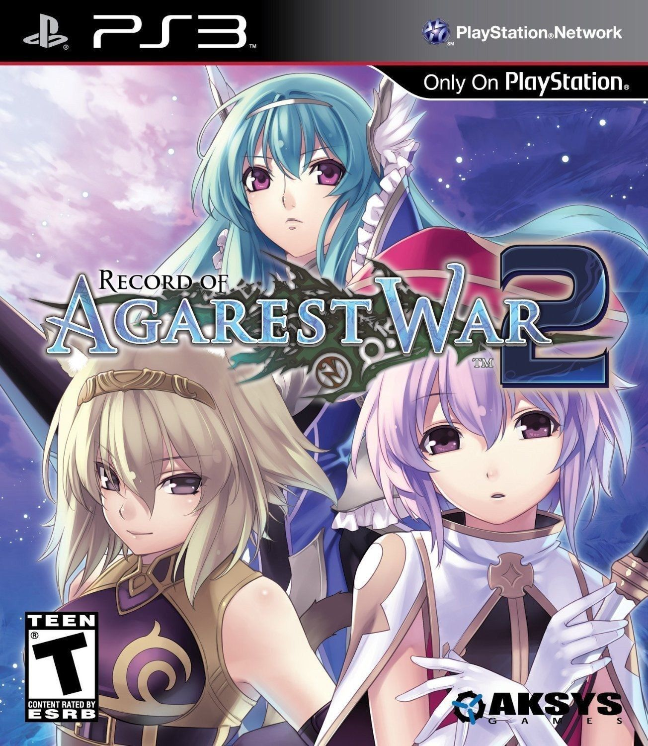 9 99 Record Of Agarest War 2 Playstation 3 Ps3 Aksys Turn