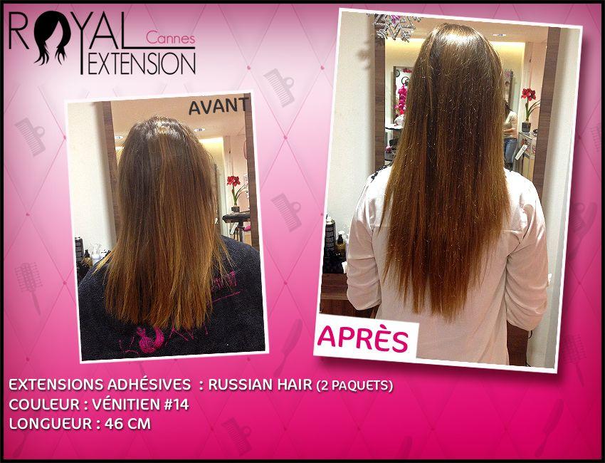 Célèbre Extensions de cheveux bandes adhésives TAPE en cheveux russes  PA91