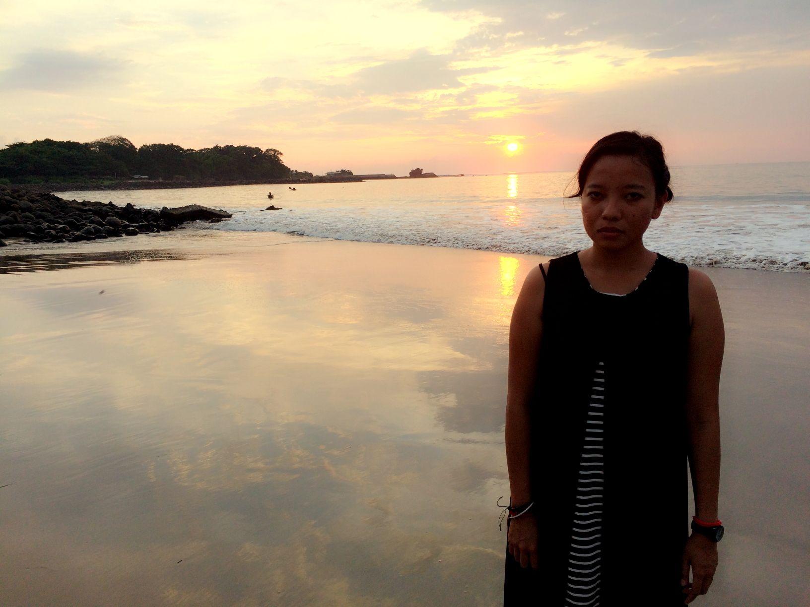 Sunset vista @Santolo Beach Garut Selatan