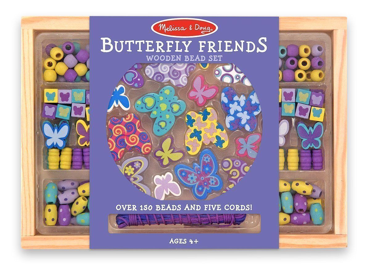 Buy Melissa & Doug Butterfly Friends Bead Set Bead