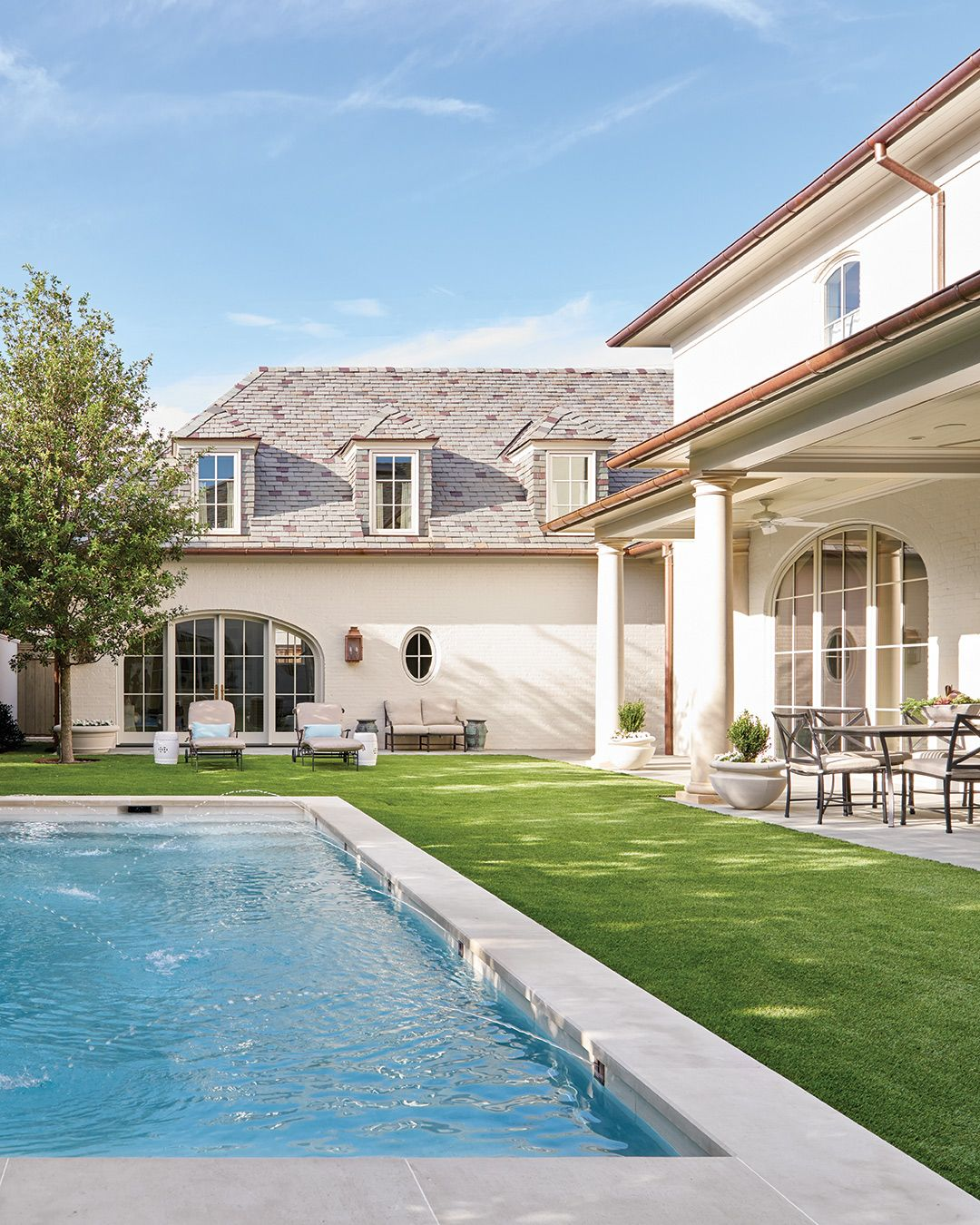10 Lounge-Worthy Pools | House, home magazine, Outdoor ... on Southern Pools And Outdoor Living  id=71428