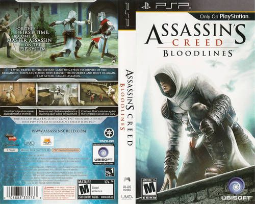 Assassin Creed Bloodlines Psp Psp Assassins Creed Creed