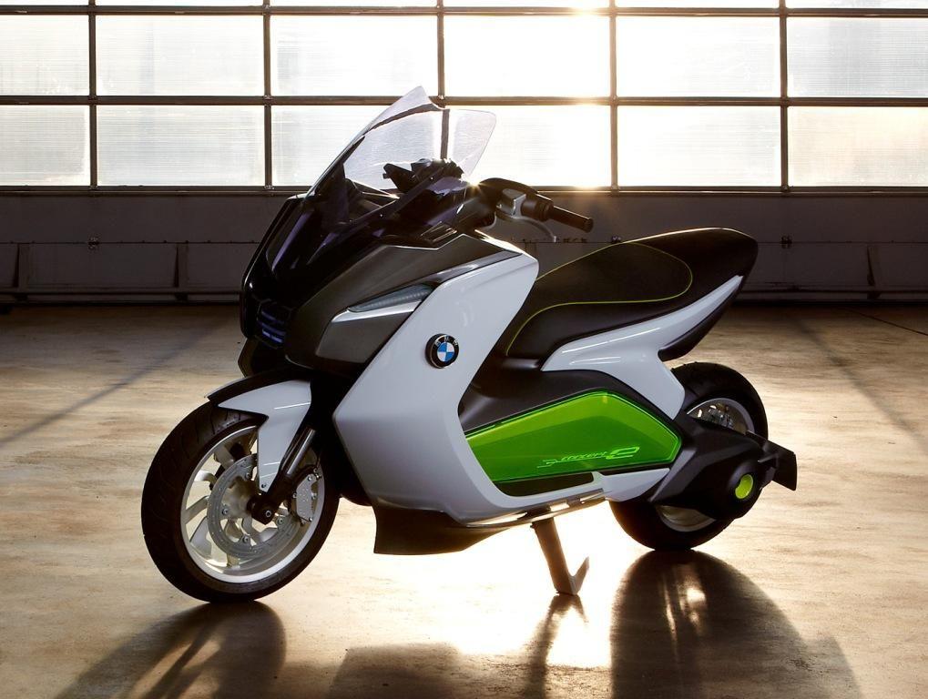 Fotos motos BMW CONCEPT E 2011 - motocicletas - Arpem.com