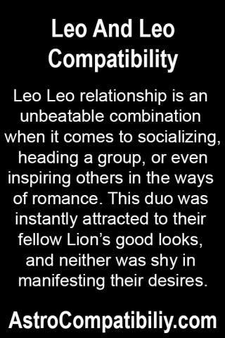 Taurus and leo relationship