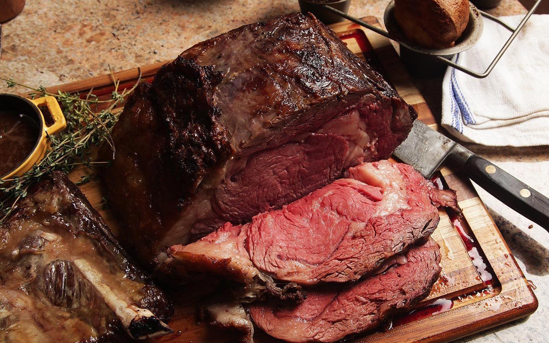 El Extraordinario Prime Rib Por Otto Gomez Comida Platos De Carne