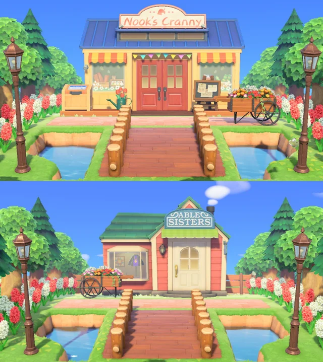 Tours of Animal Crossing towns and houses • r/Anim