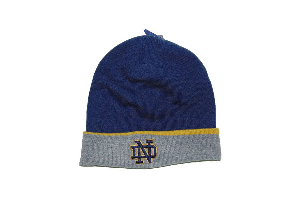 425d2a2982c University Of Notre Dame Winter Hat One Size Nwt Under Armour Fighting  Irish  Underarmour  WINTER