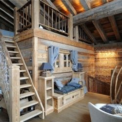 Beautiful Swiss Alps chalet will seduce you with its magnificent location and contemporary design. #dwellinggawker