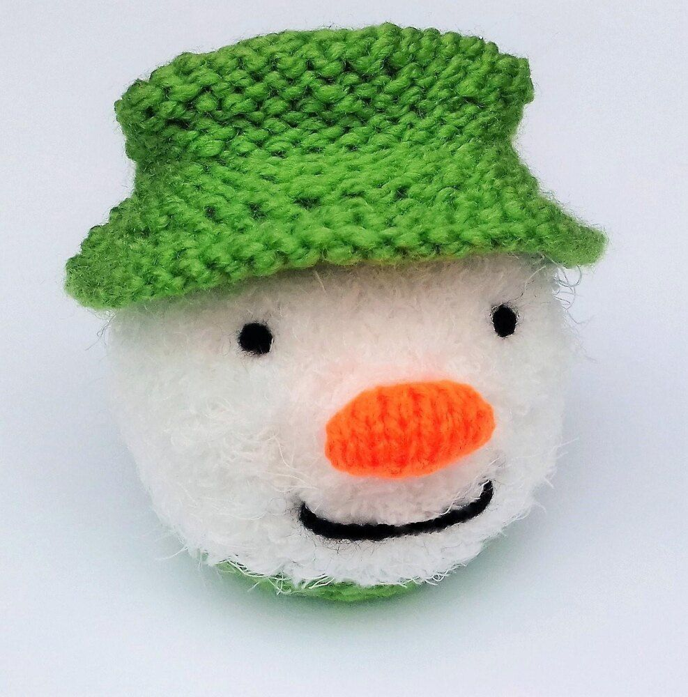 Snowman - Chocolate Orange Cover Knitting pattern by ...