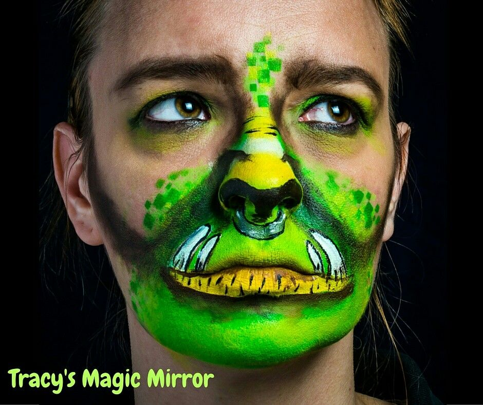 Warcraft Orc inspired by Christina Pope #tracysmagicmirror