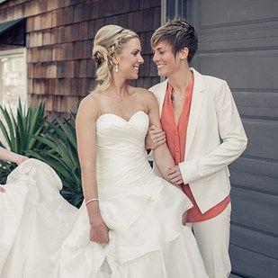 16 Dapper Brides Who Said No To A Dress With Images Dapper