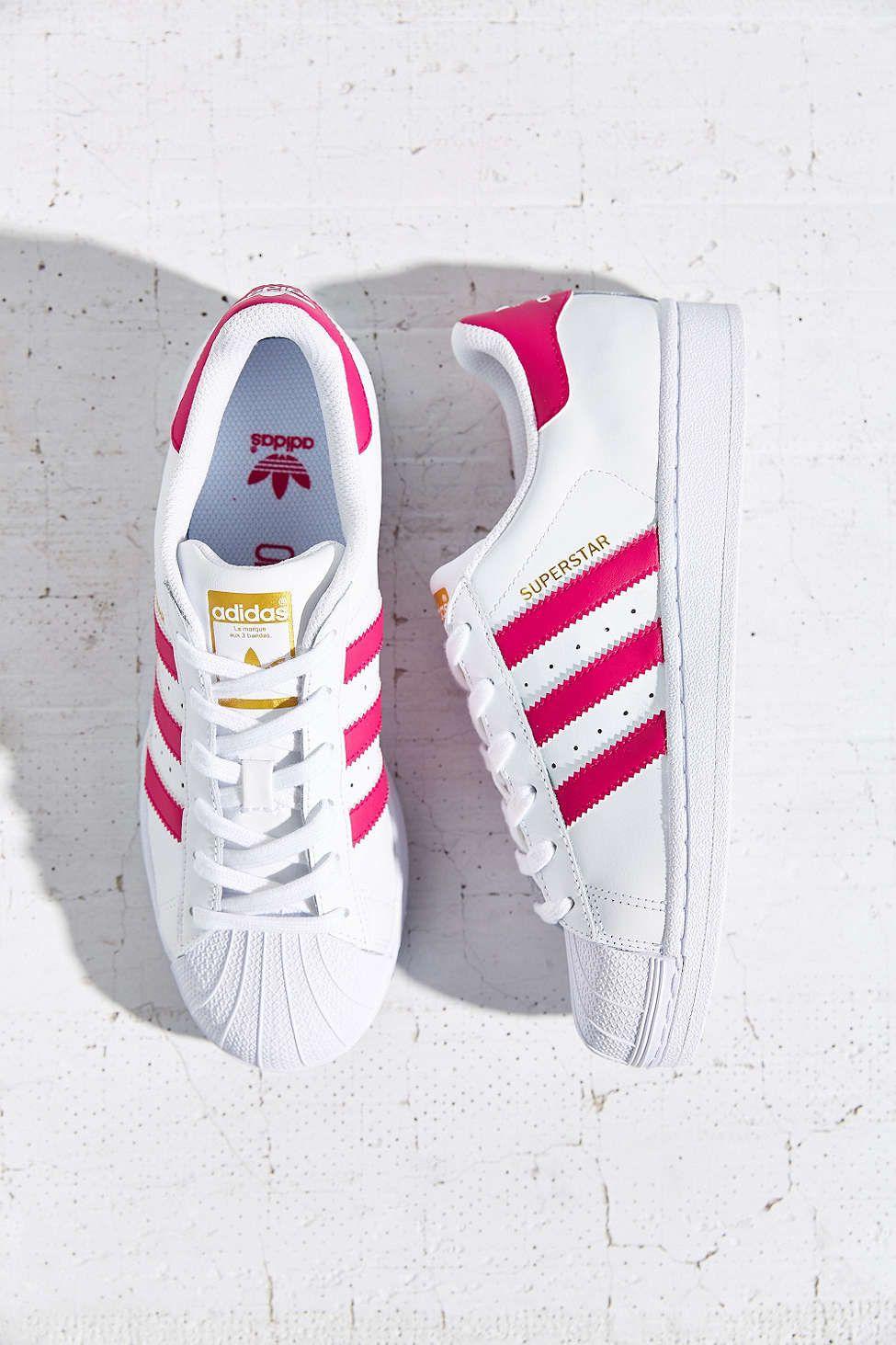 the latest 8f7e7 626ef adidas Originals Superstar Womens Sneaker. I got two pairs in middle school  and I still love them. Treat for losing weight.