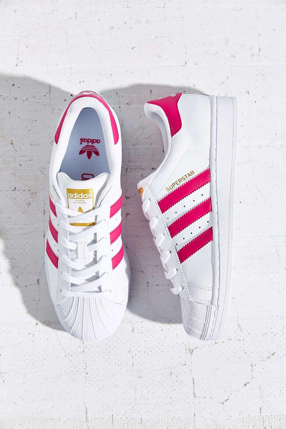 Adidas Superstar Pink Womens