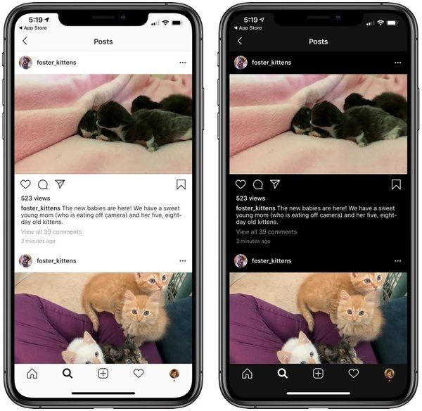 Instagram is getting Dark Mode for those who've updated