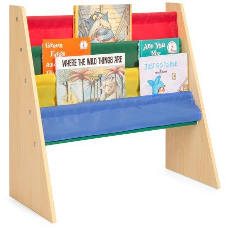 Buy Best Choice Products Kids Bookshelf Toy Storage Rack W Fabric Sleeves