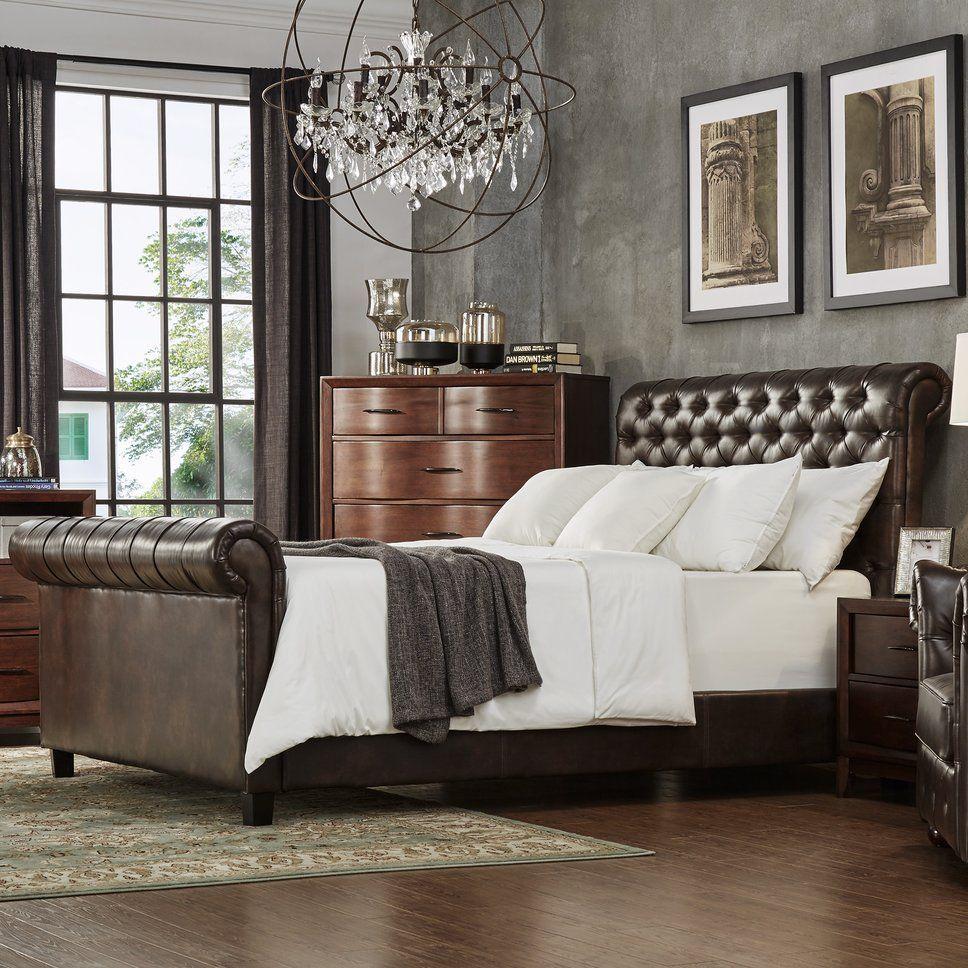 Eclectic Bedroom Design Photo by Wayfair Bed, Platform