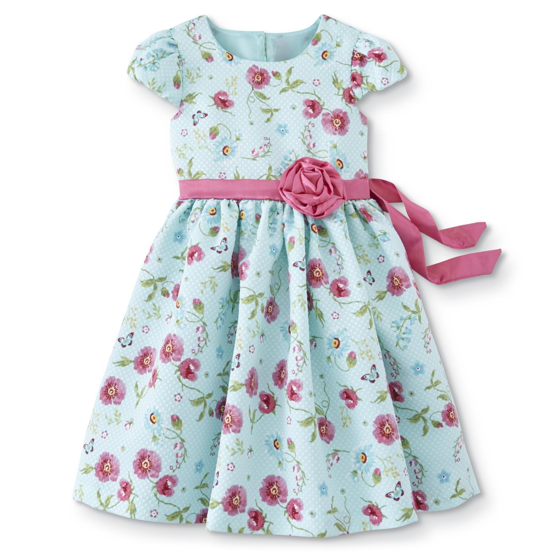 Nanette Toddler Girls Dress Floral Size 3t 2t 4t Blue Girls Dresses Dresses Toddler Girl [ 1900 x 1900 Pixel ]