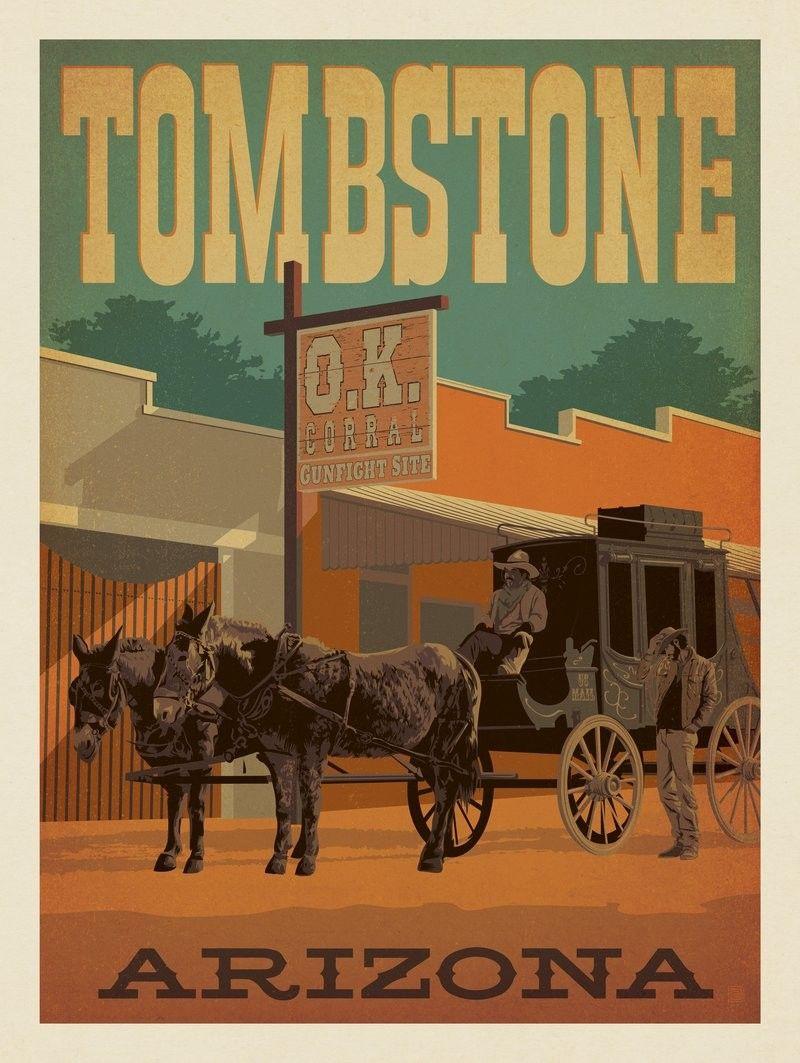 69584 Tombstone, Arizona By Joel Anderson, 2017 in 2020