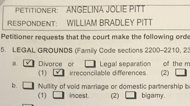 Angelina Jolie To Divorce Brad Pitt  Brad Pitt Irreconcilable
