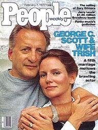 George Scott and Trish Van Devere Scott -- People Magazine cover Feb. 1977