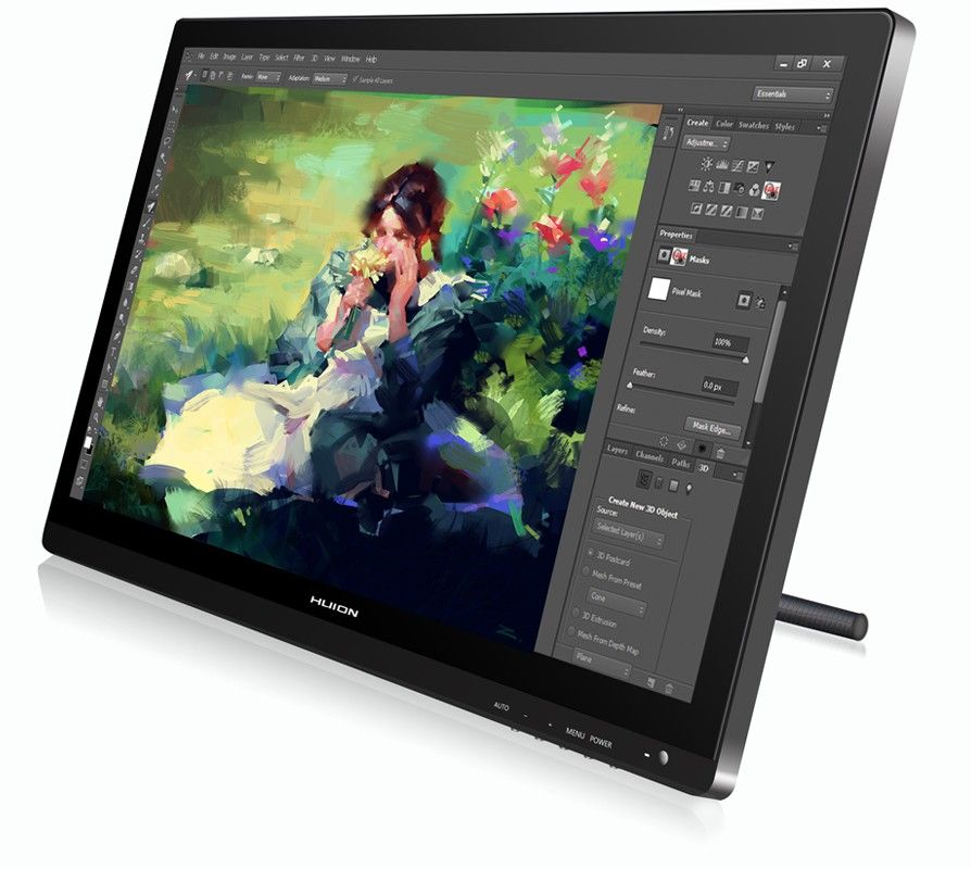 Extra gift for Huion GT-220 Pen monitor: 1x Screen protector