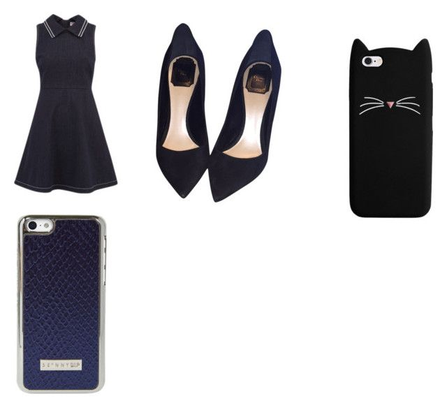 """""""navy day"""" by emmsy-is-me on Polyvore featuring RED Valentino and Christian Dior"""