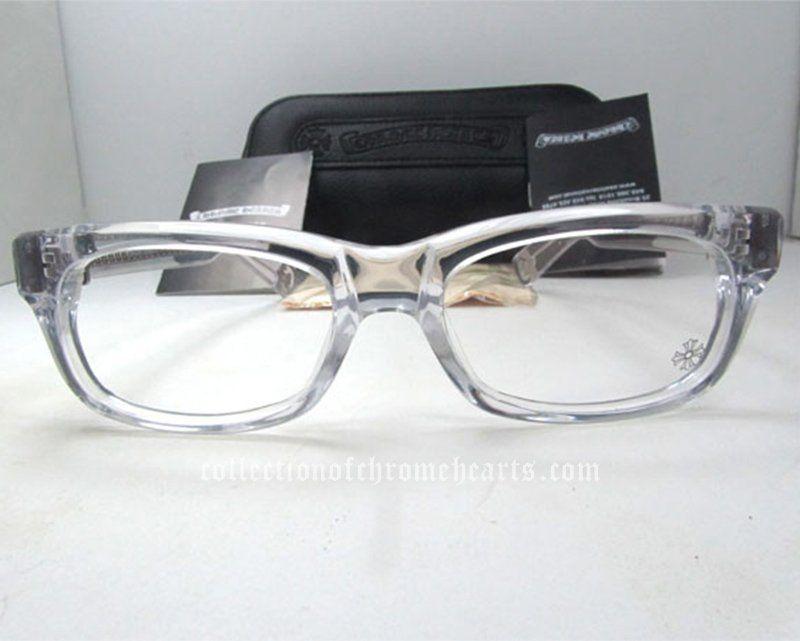 Splat Crys See Through Eyeglasses Frames By Chrome Hearts [Chrome ...