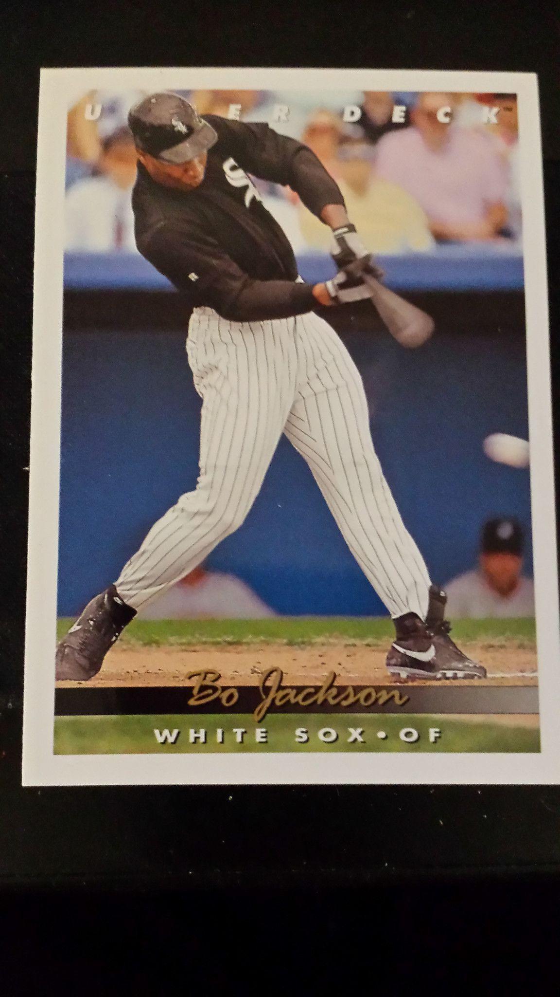 Bo jackson bo jackson upper deck baseball cards upper deck