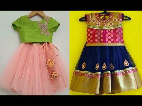 54ee42589 langa blouse cutting for kids in telugu (2018)