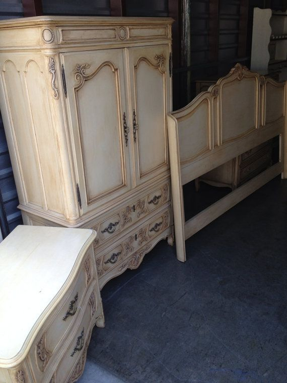 Gorgeous Drexel Heritage French Provincial Bedroom Set on Etsy, $999.00 - Only For Heather-- Not For Sale--Vintage Drexel Heritage French
