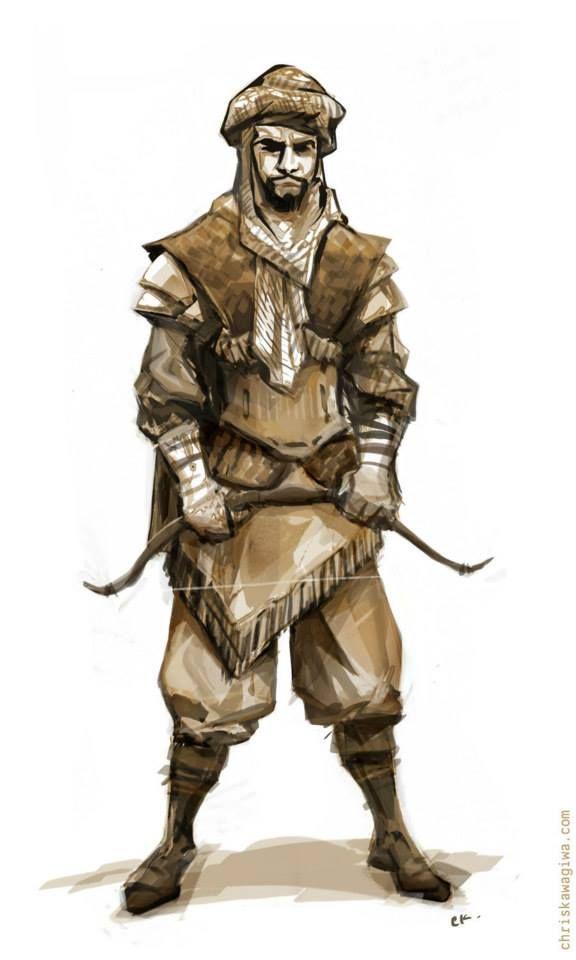 Arab archer