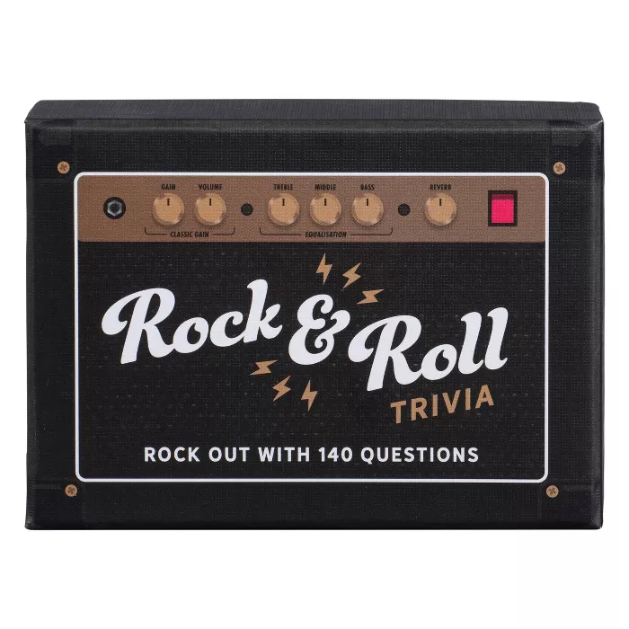 Ridley's Rock And Roll Trivia Card Game Target Card