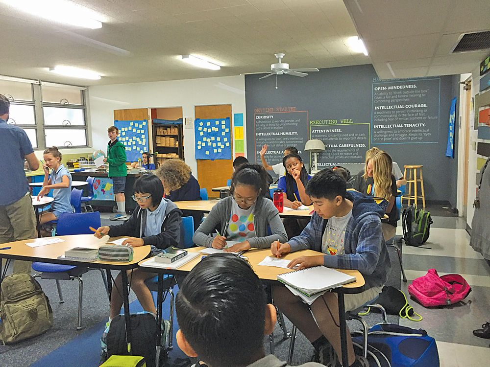 Long Beach's Intellectual Virtues Academy Looking To Bring Its Unique Model To High School Students