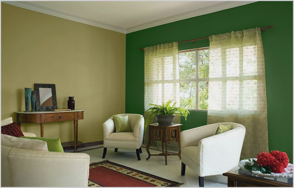 Asian Living Room Painting