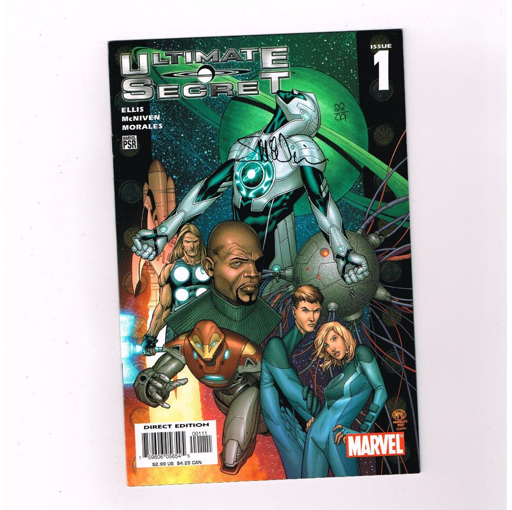 ULTIMATE SECRET #1 Ltd to 99 signed by Steve McNiven Dynamic Forces w/ COA! NM http://r.ebay.com/2pmOeS