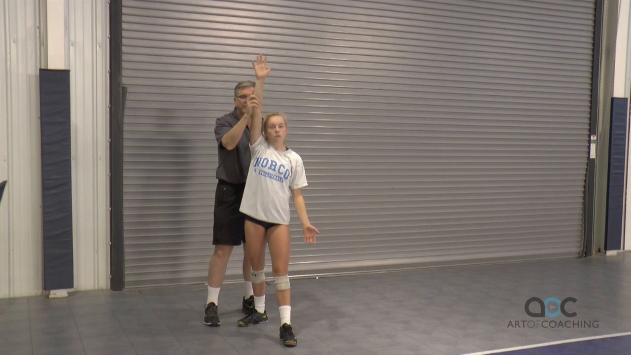 Jim Stone Mastering The Float Serve The Art Of Coaching Volleyball Coaching Volleyball Coaching Volleyball