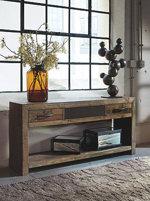 Sommerford Sofa Console Table Large New Projects Pinterest Tables Consoles And Nail Holes