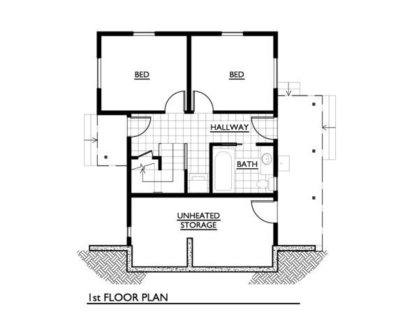 6 First Class Floor Plans For Tiny Homes With Large Back Decks   New Land    Pinterest   Decking, Living Spaces And Outdoor Living